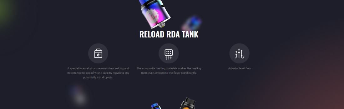 Reload RDA Tank