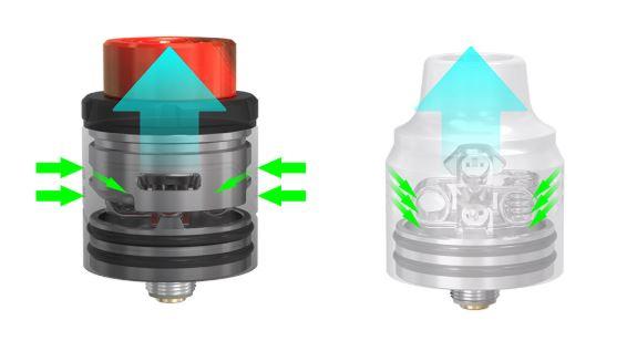 Kit Pulse X BF + Pulse X RDA de Vandy Vape Flujo de Aire